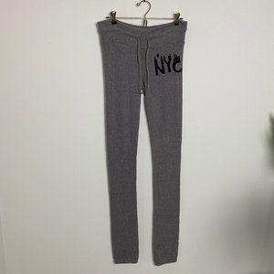 Dream Scene by Wildfox NYC Gray Sweatpants Joggers